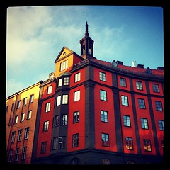 (*Kicki*) Tags: windows sky house square sweden stockholm squareformat sveavgen iphone norrmalm tegnrgatan iphoneography instagram instagramapp xproii uploaded:by=instagram