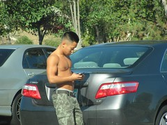 IMG_6670 (CAHairyBear) Tags: shirtless man men uomo mann hombre manner homme hom