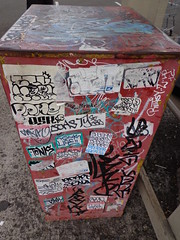 Oahu Graffiti, 2012 (HiZmiester) Tags: street streetart art graffiti hawaii ic hp oahu stickers zee vandalism z honolulu af dame stl streetsy tonk tao broke ged adapt slang sena sedna esk uce beasty socer soner retsy tmk soce tonc jesr eskro densr tonck emuk basoer