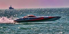 Aqua-Mania (jay2boat) Tags: speed boat florida racing keywest mystic aquamania naplesimage