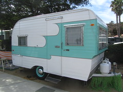 Oasis Trailer - 1958 (MR38) Tags: travel vintage tin can tourist oasis 1958 trailer