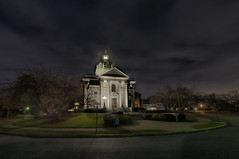 St. Catherine Church (LennyNJ) Tags: nightphotography church night newjersey nightshot nj nightphoto jerseyshore nightphotos springlake