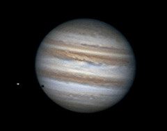 Jupiter animation - 11/19/12 (zAmb0ni) Tags: red giant solar europa great spot system gas astrophotography planet astronomy imaging jupiter celestron spc900nc