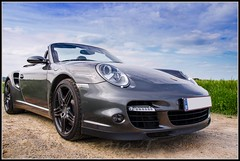 Porsche 997 Turbo Cabriolet (Thibaut Miserque) Tags: 6 cars sport nikon automobile photoshoot flat convertible s automotive turbo porsche supercar carrera supercars cls 997 38l flat6 triptronic sb900 d7000