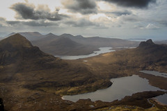 Stac Pollaidh and Cl Beag from Cul Mor (GarethThomasJones) Tags: from camera lake mountains canon scotland landscapes highlands europe north stac pollaidh cul mor stacpollaidh summerisles culmor beag sd780 cl clbeag garethjonesportsmouth northensoctland gareththomasjones nowicancanon