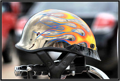 flaming hot.. (Baja Juan) Tags: cars bike wednesday happy blurry texas bokeh helmet event motorcycle baja hbw automobilles