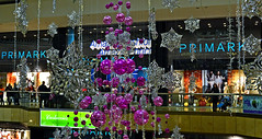 Christmas at Primark (Travis Pictures) Tags: city uk england urban retail photoshop shopping nikon britain shoppingcentre shoppingmall shops peterborough eastanglia primark queensgate d3100