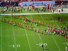SAM_6091 (arctic_whirlwind) Tags: atlanta football cheerleaders tampabay nfl barber falcons buccaneers 2012 raymondjamesstadium bucs rondebarber