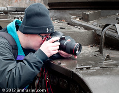 Photographing Tank Detail (Jim Frazier) Tags: park desktop november wallpaper people usa abstract cars texture metal gardens museum botanical army illinois iron flickr mechanical meetup v100 pov background steel military photographers dupage heavymetal symmetry il equipment machinery cameras transportation symmetrical botanic machines minimalism botanicgarden horticulture preserve botanicalgarden perpendicular powerpoint minimalist centered automobiles q3 apparatus wheaton 2012 publicgarden devices usarmy cantigny v200 flickrers unitedstatesarmy flickrites headon dupagecounty cantignypark centralperspective bigredone firstdivision 1stdivision firstinfantrydivision gloriousnoise 1stinfantrydivision flickrsters ldnovember wscfians jimfraziercom ld2012 wmembed 20121121klinecantignygeneva