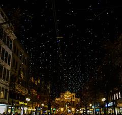Bahnhofstrasse with Christmas Lights at Night in Zurich Switzerland (mbell1975) Tags: christmas street old light night shopping stars lights schweiz switzerland town with suisse swiss zurich pedestrian shops zürich svizzera altstadt starry bahnhofstrasse cantonofzurich ilobsterit