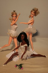the swans group (puppi17) Tags: barbie ballerinabarbie barbieballerina 70sbarbie caradoll 80sbarbie