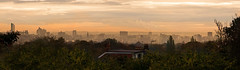 Leeds from the back bedroom window (MarkE_T) Tags: cityscape leeds sunrise yorkshire pentaxk10d smcpentaxda50200mmf456ed buildingsandstructures panorama