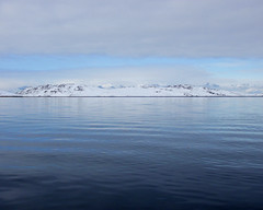 P4300590_2 (..Gratefulhume..) Tags: ocean winter sea white snow seascape mountains cold ice water fog clouds frozen waves greenland change climate warming global nuuk icesheet