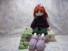 SisuDressed10 (toureasy47201) Tags: doll handmade knit yarn knitteddolls arnecarlos