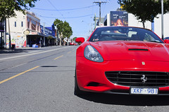 Car on Street - Richmond (Bacoon) Tags: car australia melbourne ferrari victoria richmond bluecouch swanstreet