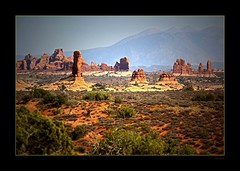Panoramarches (Seeing Things My Way...) Tags: usa rock stone america utah desert pillar arches column archesnationalpark