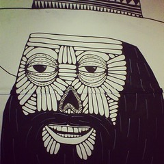 Introducing Pancho el Blackbeardo Diez! (Mulga The Artist) Tags: square squareformat amaro iphoneography instagramapp uploaded:by=instagram