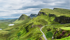 The Quiraing (weejohnmurray) Tags: red quiraing skye mountain walk scotland landscape scottish island hills green slopes