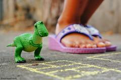 DSC01377-1.jpg (maxtrese) Tags: toy dinosaur story hopscotch rex toyphotography