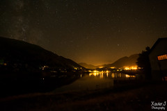 Lac d'Arcizans-Avant (Trialxav) Tags: vie lacte night sky light lac lake water nuit toiles stars long exposure