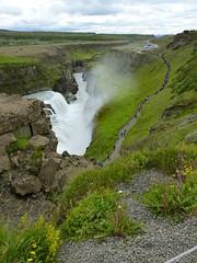 P1870426 Gullfoss waterfall  (23) (archaeologist_d) Tags: waterfall iceland gullfoss gullfosswaterfall