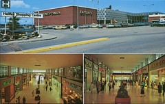 The Halifax Shopping Centre, Halifax, Nova Scotia (SwellMap) Tags: postcard vintage retro pc chrome 50s 60s sixties fifties roadside midcentury populuxe atomicage nostalgia americana advertising coldwar suburbia consumer babyboomer kitsch spaceage design style googie architecture shop shopping mall plaza