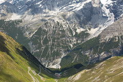 Top of the Stelvio Pass - Northern Italy (Donna Hampshire) Tags: passodellostelvio stelviopass stilfserjoch donnarobinson donnahampshire northernitaly stelvio mountainpass easternalps alps landscape