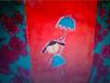 Toalha de mesa pintada pela Renata GAM*. (Atelier Renata GAM) Tags: toalhas de mesas pintada ecomapliques