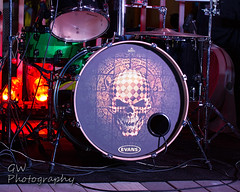 Skull Drums... (H2OJunkie) Tags: daytonabeach identitycrisisbandorlando volusiacounty florida canon canon7d canon60mmf28efsusmmacro existinglight manfrotto gwphotography
