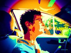 Rosa (Stephenie DeKouadio) Tags: canon portrait painting colour color colorful woman artistic art highway