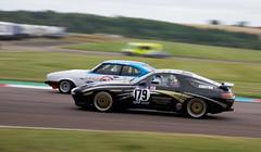 Porsche on your nose (Dancinggecko) Tags: classiccar racing track thruxton race racecar cscc sportscar futureclassics porsche928 porsche 928 clubautosport