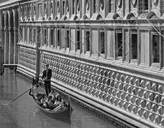 Gondolier. (caramoul25) Tags: venise venice venezia gondole gondolier faade caramoul25