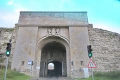 Portland, North Entrance to The Citadel (Clanger's England) Tags: dorset england gradeiistarlistedbuilding portland archway wwenglishtownsnet lbs382026 ebb wbi ebi