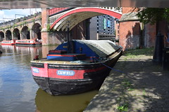 Manchester (DarloRich2009) Tags: thebridgewatercanal bridgewatercanal boat barge narrowboat canalboat towpath boats barges canalboats narrowboats canal waterway castlefield deansgate manchester greatermanchester cityofmanchester lancashire