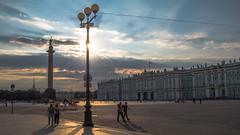 Palace Square, St Petersburg (pilot3ddd) Tags: stpetersburg palacesquare hermitage alexanderscolumn sunbeams summer olympuspenepl7 panasoniclumixg1232