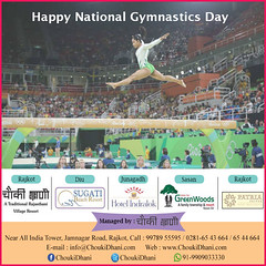 National Gymnastic Day (ChoukiDhani) Tags: gymnastic sports support elegant balance strength exercise healthy classy ability