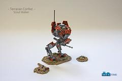 SW_Iltis_Main (THE BRICK TIME Team) Tags: lego space walker war star mech warrior scout iltis machine gun minigun