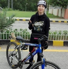 Women Empowerment in Pakistan (DPakistanOfficial) Tags: pakistan karakoram mountains range travel cyclist cycling tourism women adventure
