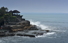 Tanah Lot (Arushad) Tags: arushad bali indonesia travel arushadahmed dash8x rocks sea tanahlot temple waves