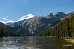 Lake Geneva Northshore (kevin-palmer) Tags: bighornmountains bighornnationalforest wyoming fall autumn september nikond750 tamron2470mmf28 cloudpeakwilderness circularpolarizer lakegeneva water