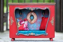 Blythe nook bed, diorama, roombox