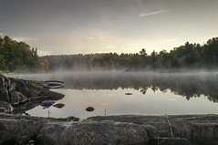 Natures Good Morning (Jackx001) Tags: 2016 camptrip camping canada family fishing labourday nature ontario pickerelriver september weekend wild canoe sunrise landscape