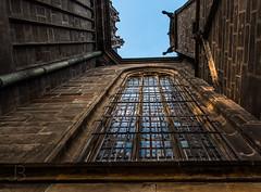 Cathedral st. Vitus, Prague (JanBures_com) Tags: window cathedral prague vitus europe czech czechia sky reflection