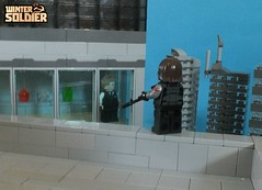 Winter Soldier Vol 2 A New Age #4 (The_Lego_Guy) Tags: lego winter soldier james buchanan bucky barnes sniper rifle new york city captain america steve rogers marvel custom minifigures brickarms suits reference kody youre best 3