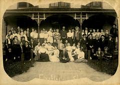 Eiss Hall Group Photograph at Valparaiso University, 1905 - Valparaiso, Indiana (Shook Photos) Tags: photograph photographs eisshall dorm dormitory boardinghouse valparaisouniversity valparaisoindiana valparaiso indiana portercounty