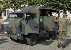 Mungo (Schwanzus_Longus) Tags: delmenhorst german germany modern truck vehicle personell carrier troop small bundeswehr army military esk mungo multicar fumo m30