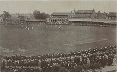 """UK SPORTS CRICKET c.1907 The Oval home ground of Surrey County Cricket Club since it was built in 1845 international cricket ground at Kennington London & Lambeth ENGLAND (UpNorth Memories - Donald (Don) Harrison) Tags: vintage antique postcard rppc """"don harrison"""" """"upnorth memories"""" upnorth memories upnorthmemories michigan history heritage travel tourism """"michigan roadside restaurants cafes motels hotels """"tourist stops"""" """"travel trailer parks"""" campgrounds cottages cabins """"roadside entertainment"""" """"natural wonders"""" attractions usa puremichigan"""