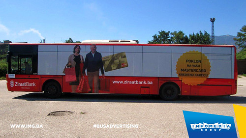 Info Media Group - Ziraat Bank, BUS Outdoor Advertising, Banja Luka 08-2016 (6)