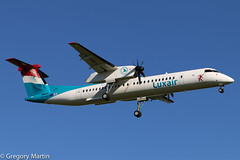 Luxair LX-LGG (Gregory Martin Photography) Tags: ellx lxlgg luxair q400