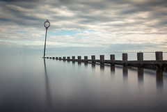 Portobello (Grant Morris) Tags: portobello groins waterscape waterfront water beach reflection longexposure greysky greyclouds scotland riverforth smoothwater canon 5d3 24105 nd nd10 grantmorris grantmorrisphotography